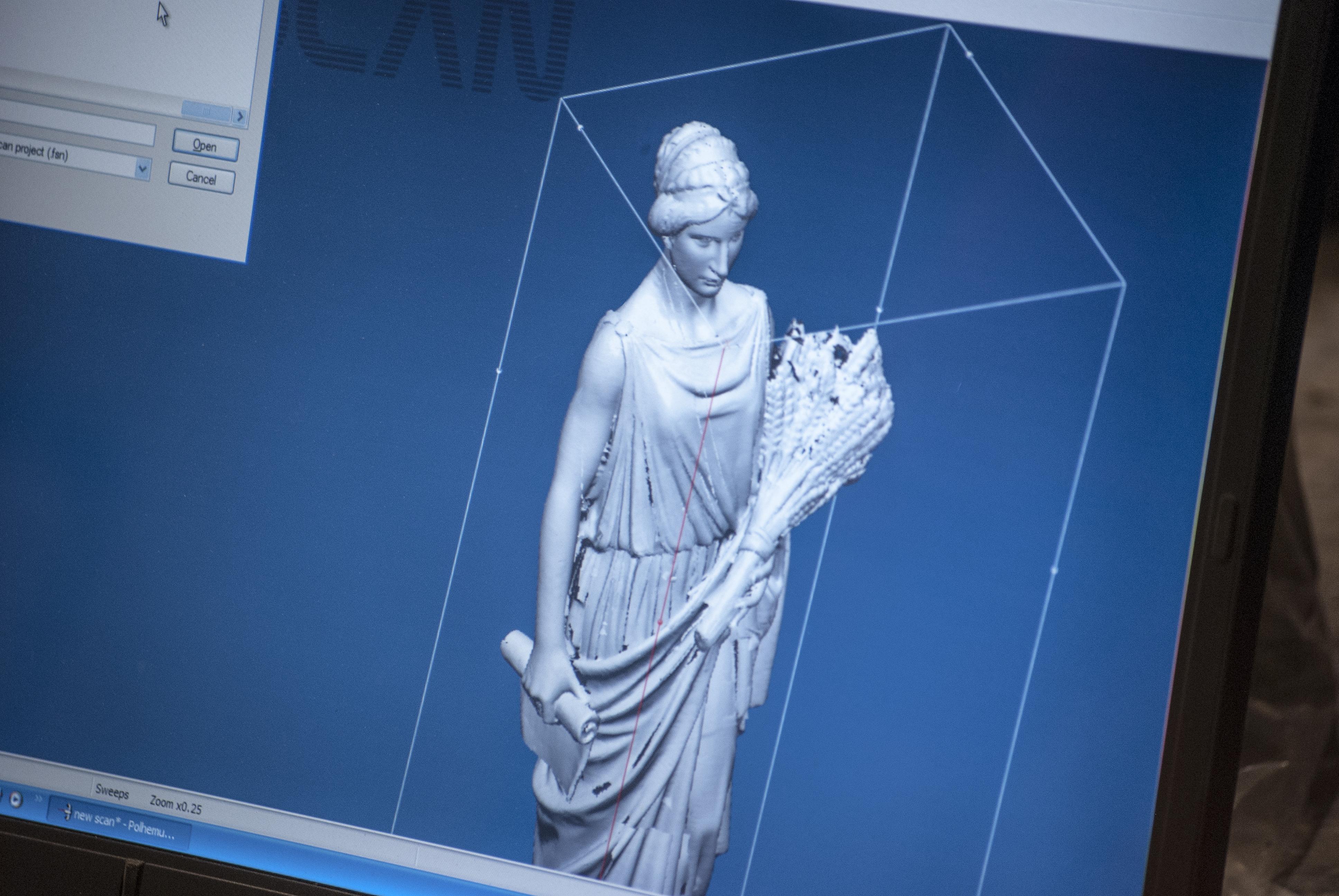 Polhemus 3D Laser Scanner Aids in Recreating Vermont Capitol