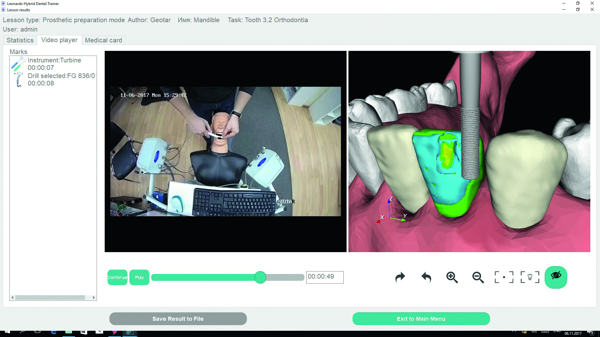 Medical Simulation with VIPER Motion Tracker
