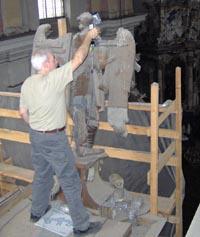 Polhemus Scanner Used on Historic Organ