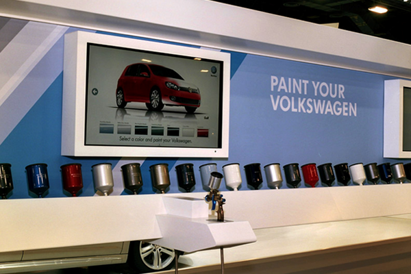 Case Study: PATRIOT Used In Volkswagen Spray Paint Gun Color and Trim Exhibit