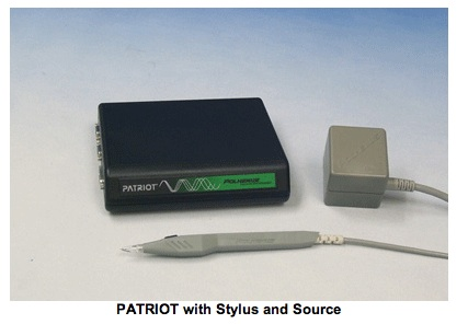 Polhemus Patriot with Stylus and Source - Rhino Software Plug-in