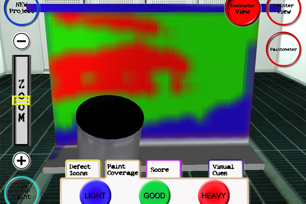Case Study: Polhemus Powers VR Tool Used to Train Painters