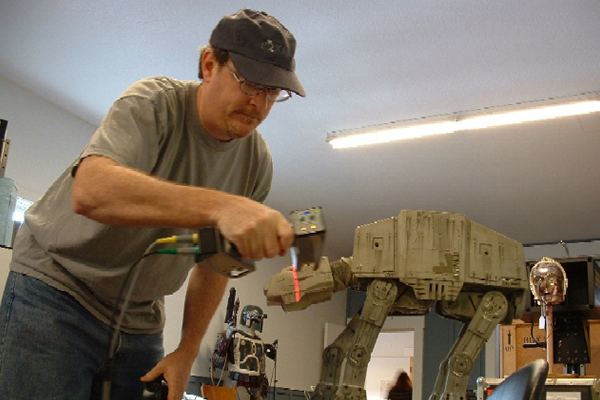 Case Study: Digital Archives of Star Wars Artifacts Created with FastSCAN