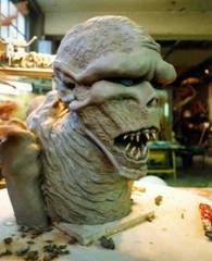 Maquette of the Demon