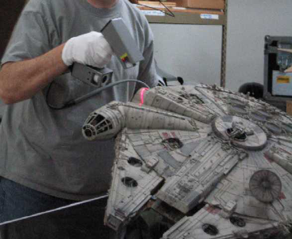 Digital Archives of Star Wars Artifacts Created with FastSCAN