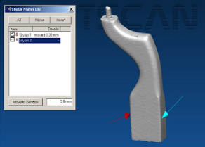 Linear circumferential radial and volumetric 3d shape capture
