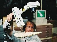 Polhemus handheld 3D laser scanner