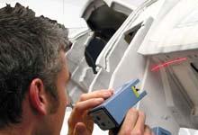 Polhemus FastSCAN used to scan vehicle conversion